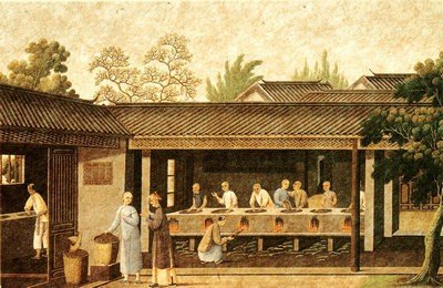 Tea production in ancient China