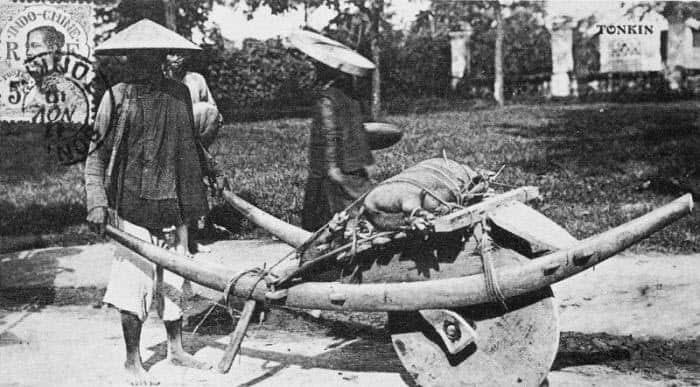 Wheelbarrow: Chinese invention