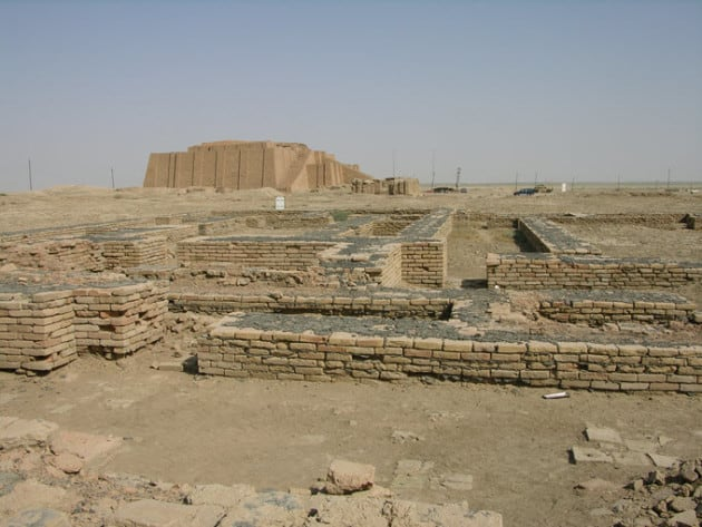 the city of Ur Ancent Mesopotamia
