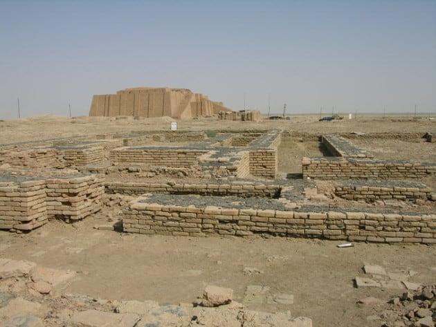 the city of Ur Ancent Mesopotamia