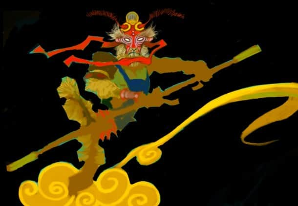 Sun Wukong - the monkey myth