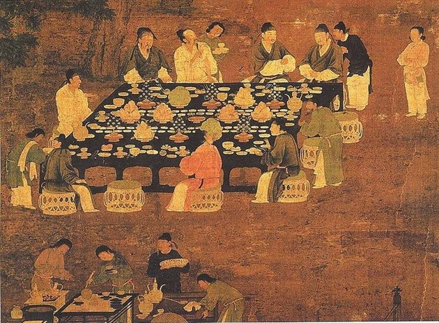 Vegetables in ancient China