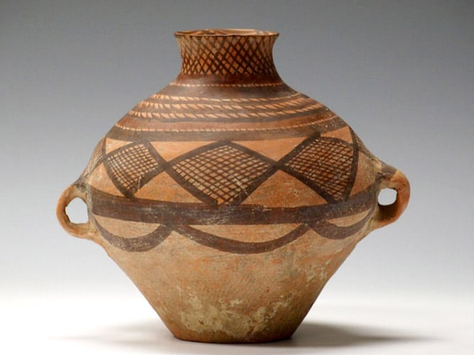 Chinese Neolithic period pottery