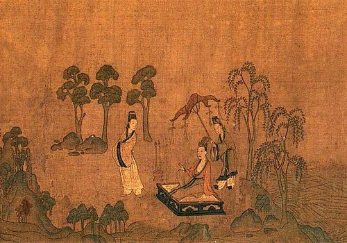Gu Kaizhi paintings