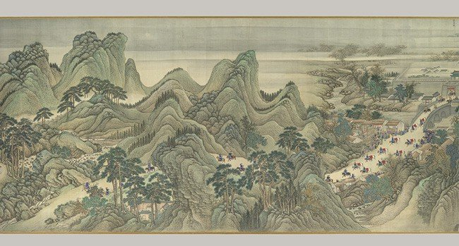 Landscape paintings in ancient China