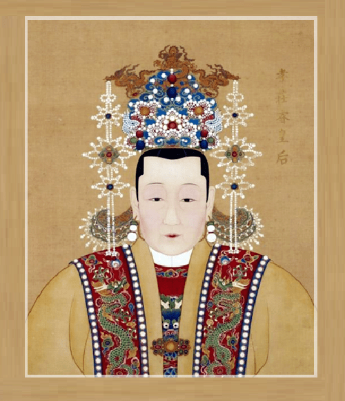 Phoenix crown Chinese dress