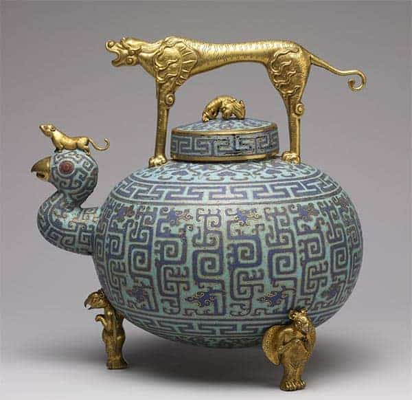 Cloissone art in ancient China