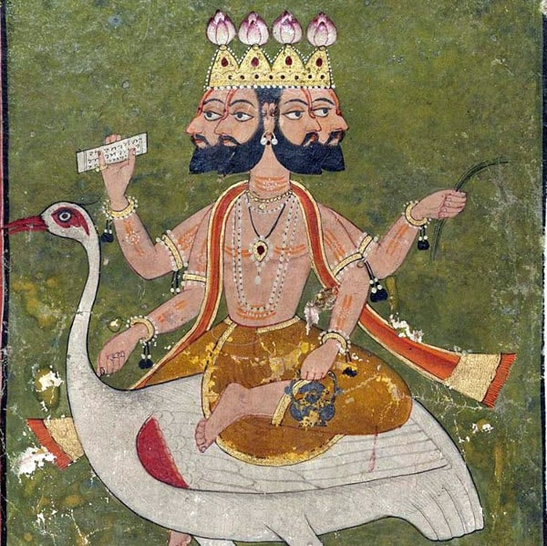 Brahma, Hindu trinity god