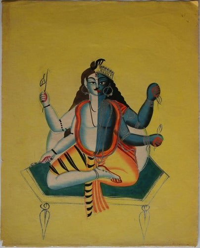 Harihara, the embodiment of Lord Shiva and Vishnu