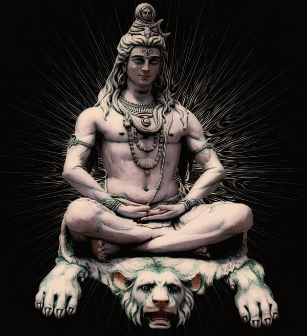 Shiva, the Hindu trinity god