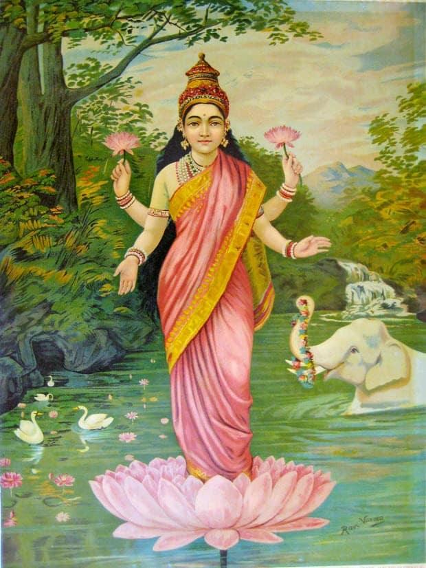 Lakshmi, Hindu goddess