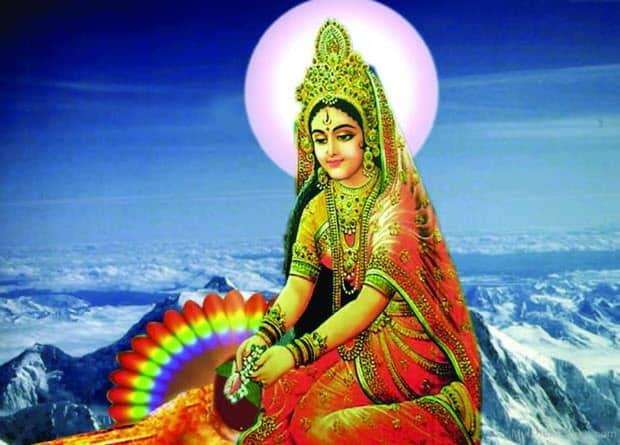 Shakti goddess Parvati