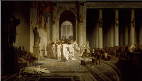 Aftermath of Julius Caesar's death