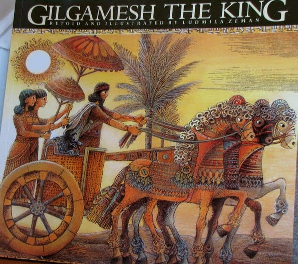 Gilgamesh, the king of the Sumerian city of Uruk