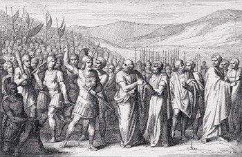 Julius Caesar in Roman republic army