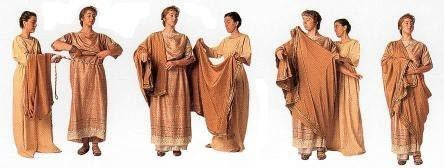 ancient romans tunic