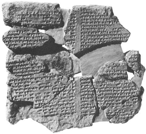 Epic of Gilgamesh tablet