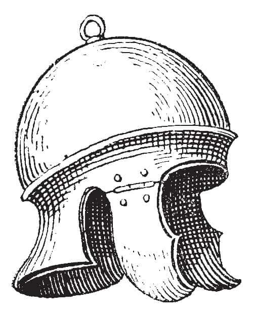 Galea Roman Helmet