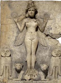 Interaction between Siduri and Gilgamesh