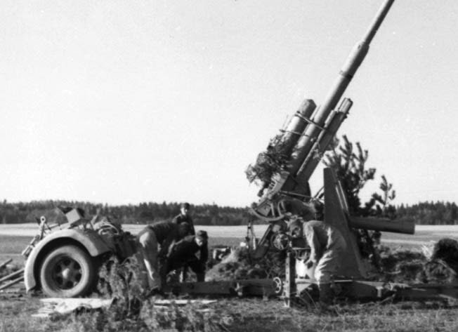 The 88mm gun