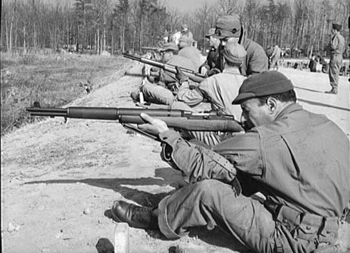 M1 Garand rifle, World War II