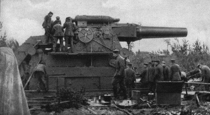 Big Bertha, World War I