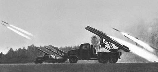 Katyusha rocket launcher, World War II