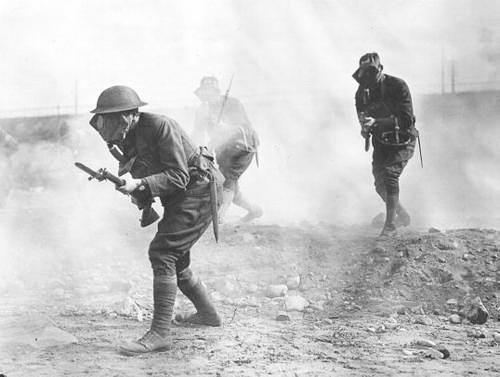 Phosgene and tear gas, World War I