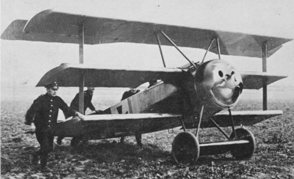 World War I: Fokker Triplane