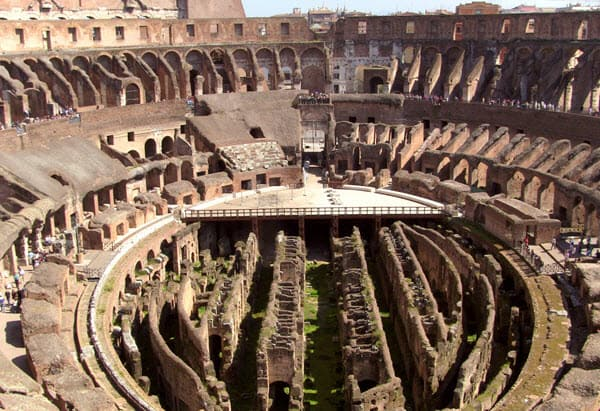 The Colosseum was known as the Flavian Amphitheater