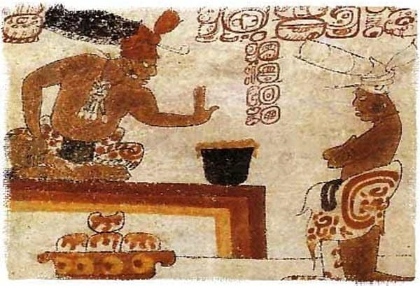 Mayan invention: chocolate