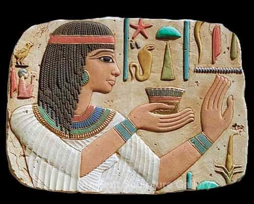 wigs was invented by egyptians