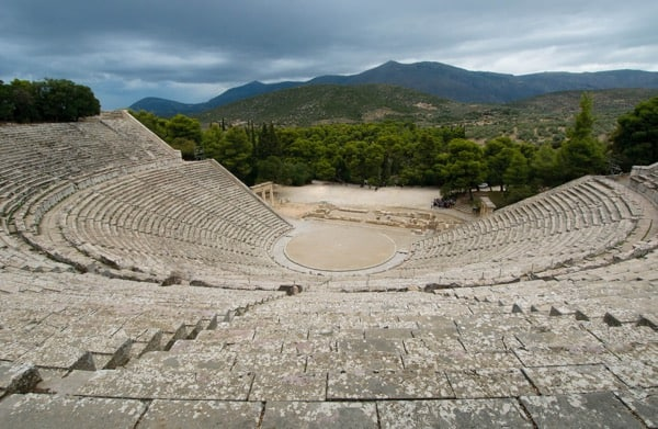 The Great Theatre of Epidaurus, Epidaurus