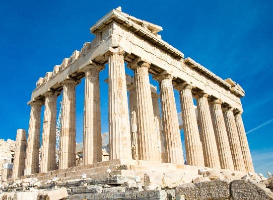 Parthenon, Acropolis ancient greek architecture