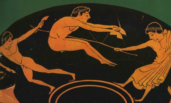 Jumping: ancient Greece
