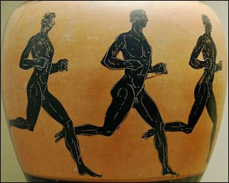 Running, ancient Greece games