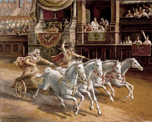 Chariot racing, ancient Greece games