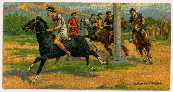 Horse racing, ancient Greece games