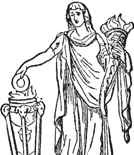 Vesta, The 'Virgin' Roman Goddess of Family, Home, and Hearth