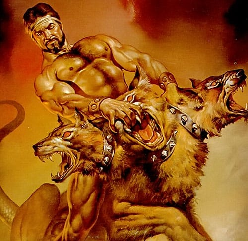 Myths around Hercules