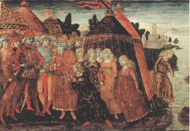 Roman myth of Cloelia