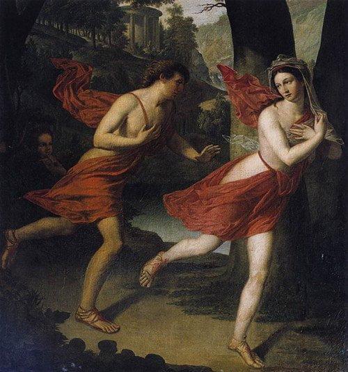 Roman mythology, the story of Apollo and Cassandra