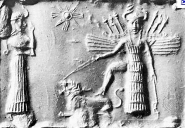 Kishar, the earth goddess