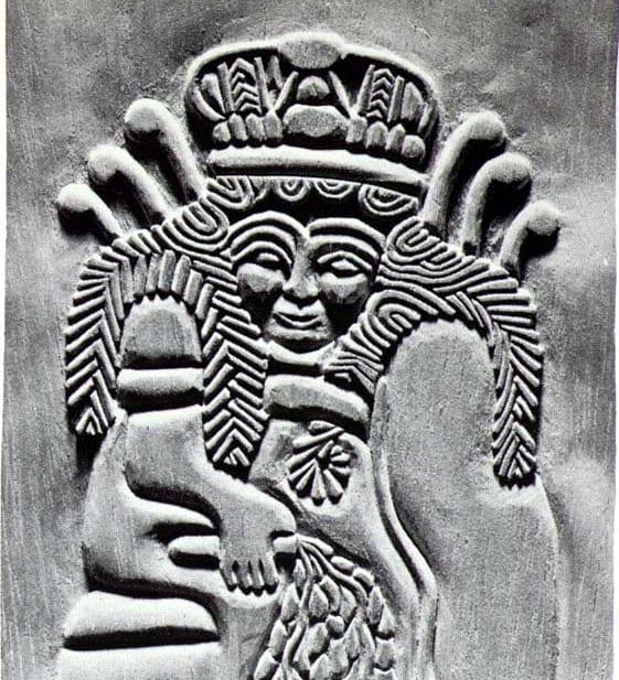 Ninhursag, the mother goddess of mountains