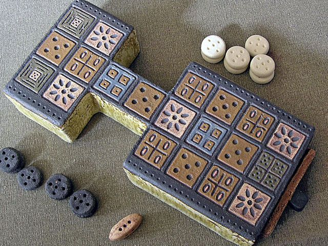 Board game: Sumerian invention