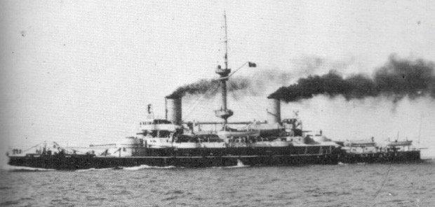 Ammiraglio di Saint Bon: Italian battleship WWI