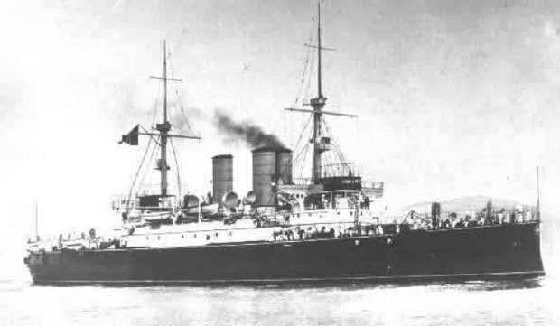 Benedetto Brin ww1 battleship