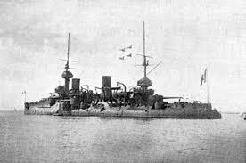 FS Bouvet battleship