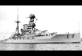 HMS Barham, WWI battleship