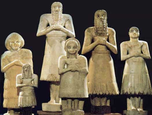 Statues of Tell Asmar